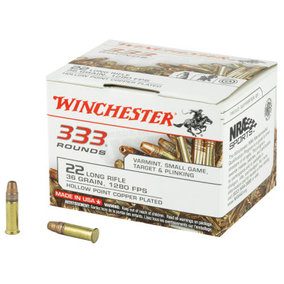 WINCHESTER 22LR 36GR HP
