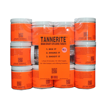 TANNERITE FULL BRICK 1/2 POUND 10 PACK